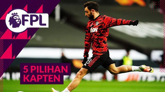 Berita video Tips FPL (Fantasy Premier League) 2020/2021 kali ini membahas beberapa pilihan kapten untuk GW 35, dan perlu diingat pemain Manchester United akan melakoni triple gameweek.