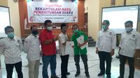 Komisi Pemilihan Umum (KPU) menetapkan pasangan Dyah Hayuning Pratiwi-Sudono (Tiwi-Dono) sebagai pemenang Pilkada Purbalingga 2020.