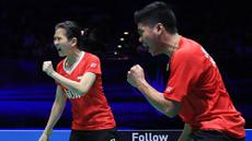 Pasangan ganda campuran Indonesia, Praveen Jordan/Debby Susanto, berhasil menjadi juara All England 2016. (PBSI/Nafielah)