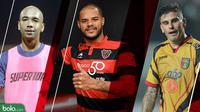 Trivia Pemain Tajam Liga 1 2018 yang Dibajak Klub Luar Negeri (Bola.com/Adreanus Titus)