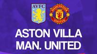 Premier League - Aston Villa Vs Manchester United (Bola.com/Adreanus Titus)