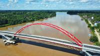 Kementerian Pekerjaan Umum dan Perumahan Rakyat (PUPR) telah menyelesaikan pembangunan Jembatan Tumbang Samba (dok: PUPR)