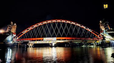 Jembatan Tumbang Samba di Kalimantan Tegah