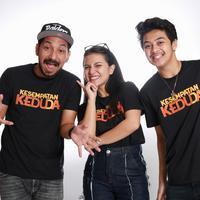 Media visit pemain film Kesempatan Keduda (Adrian Putra/Fimela.com)