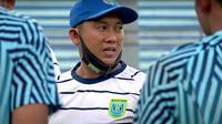 Pelatih Persela, Didik Ludianto. (Bola.com/Aditya Wany)