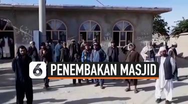 thumbnail masjid afghanistan ditembaki