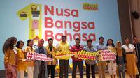 Kampanye #SatukanSemangatmu Indosat Ooredoo dalam memeriahkan Hari Sumpah Pemuda. Liputan6.com/Andina Librianty