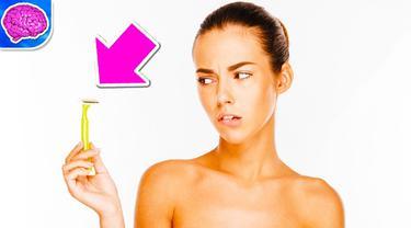 Ada wanita yang mau mencukur rambut kemaluannya dan ada juga yang tidak, kalau kamu bagaimana? (Ilustrasi: YouTube.com)