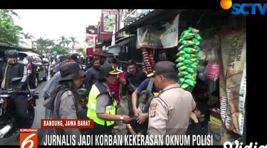 Kejadian berawal saat dia dan rekannya Prima Mulia mengambil gambar mahasiswa yang dipukuli polisi saat kerusuhan terjadi di Jalan Singa Perbangsa.