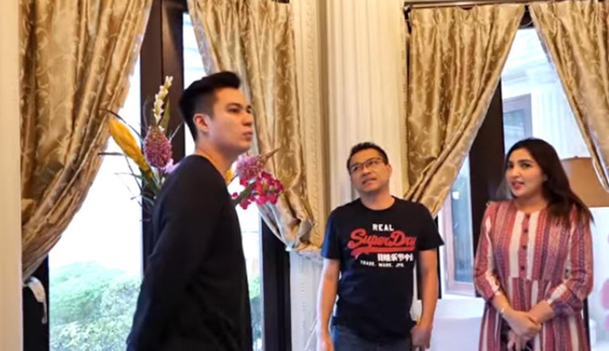 Baim Wong di Rumah Ashanty-Anang (Youtube/Baim Paula)