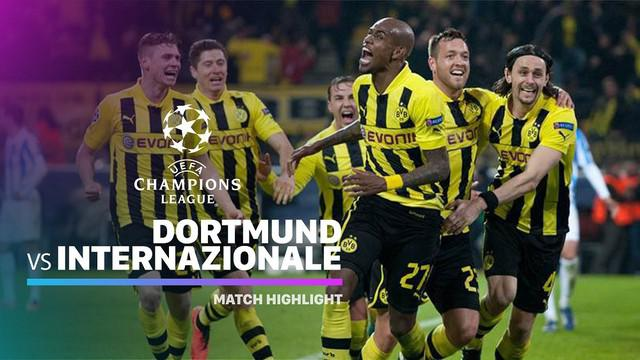 Berita video highlights Grup F Liga Champions 2019-2020 antara Borussia Dortmund melawan Inter Milan yang berakhir dengan skor 3-2, Selasa (5/11/2019).