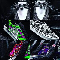 Intip koleksi sneakers terbaru dari Vans yang berkolaborasi dengan film The Nightmare Before Christmas (Foto: instagram/disneynew55)
