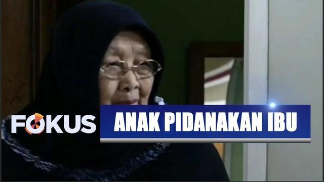 Nenek Siti Rokayah, yang sempat digugat anak kandung senilai Rp 1,8 miliar, kembali dipinakan oleh istri anaknya. Sang menantu anggap nenek telah cemarkan nama baiknya saat berbicara di talkshow tv.