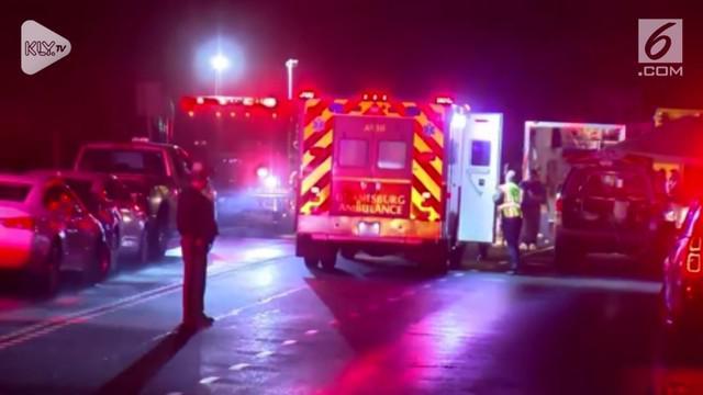 Kecelakaan berawal dari tabrakan limusin dengan kendaraan lain. Menyebabkan 20 orang meninggal dan hingga saat ini identitas siapa saja korban yang meninggal belum diumumkan.