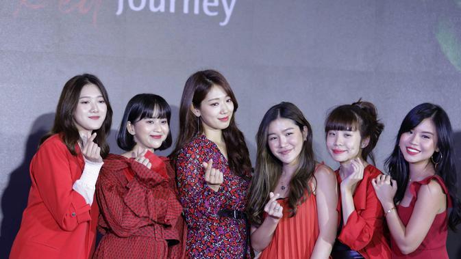 Park Shin Hye Ungkap Hal Berkesan tentang Indonesia