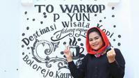 Cawagub Jatim Puti Guntur Sukarno (Dian Kurniawan/Liputan6.com)