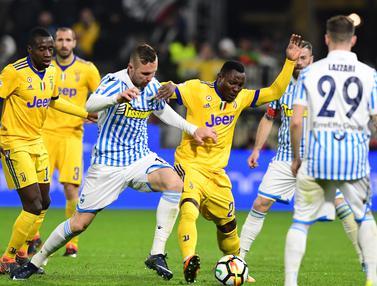 FOTO: Juventus Gagal Raih 3 Poin di Markas SPAL