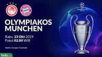 Liga Champions - Olympiakos Piraeus Vs Bayern Munchen (Bola.com/Adreanus Titus)