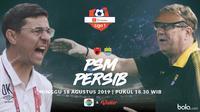 Shopee Liga 1 - PSM Makassar Vs Persib Bandung - Head to Head Pelatih (Bola.com/Adreanus Titus/Faris Kholid)