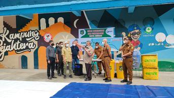 Bobby Nasution Jadikan Kampung Sejahtera Medan Pilot Project Kawasan Bebas Sampah