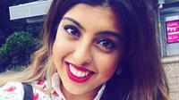 Meera Solanki, perempuan yang pingsan usai melindungi temannya yang jadi korban rasisme akibat virus corona itu baru saja menggelar pesta ulang tahun. (dok. Facebook Meera Solanki/Dinny Mutiah)
