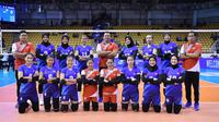 Timnas voli putri Indonesia pada kualifikasi Olimpiade 2020 Tokyo di Nakhon Ratchasima, Thailand, 7-12 Januari. (foto: asianvolleyball.net)