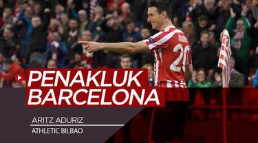 Berita video striker Athletic Bilbao, Aritz Aduriz, menjadi penentu kemenangan atas Barcelona pada laga pembuka La Liga 2019-2020, Jumat (16/8/2019). Apa istimewanya Aduriz pada pertandingan tersebut?