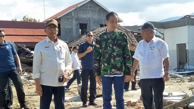 Foto Saat Sekjen PBB Puji Penanganan Bencana di Sulteng dan Lombok Saat Bertemu Jokowi