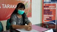 Jurus Bicara Gugus Tugas Percepatan Penanganan Covid-19 Kota Tarakan dr Devy Indriana.