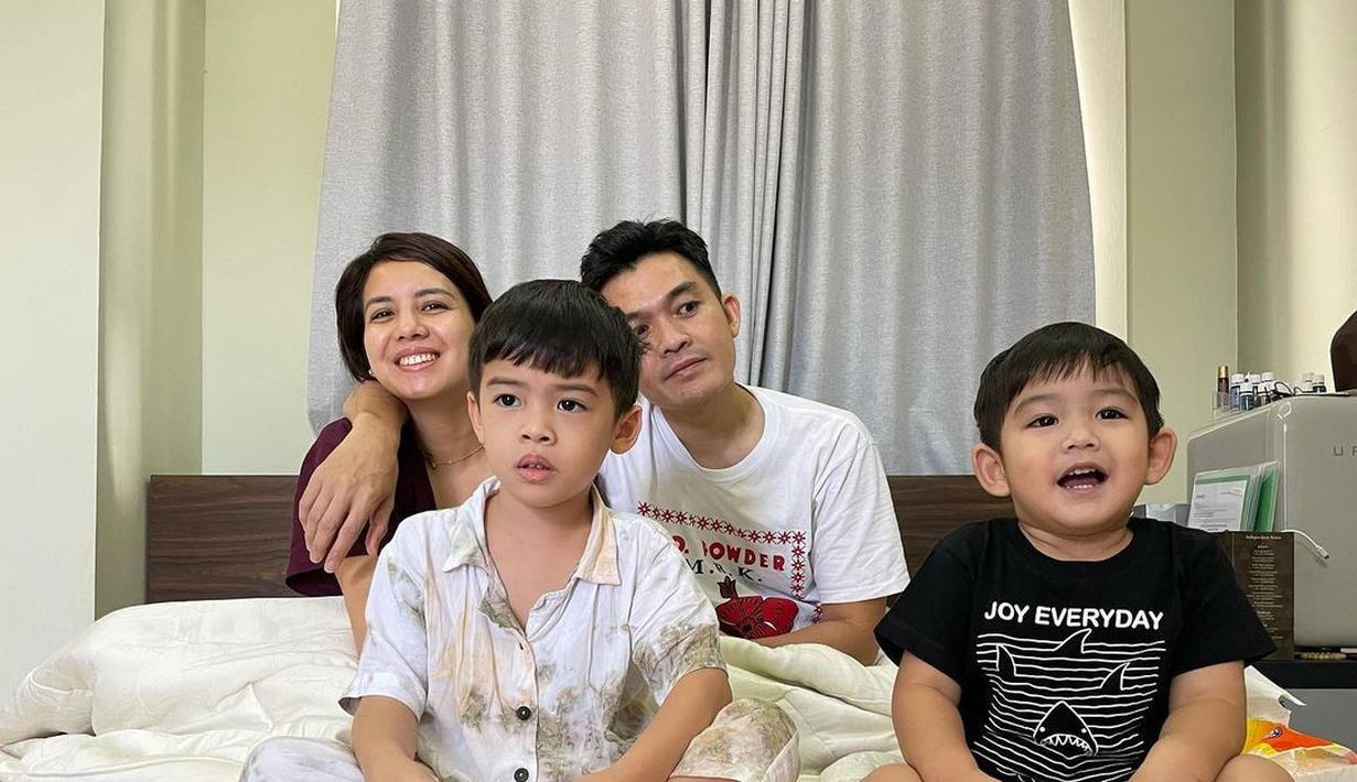 Tya Ariesta Isoman bareng anak (Instagram/tya_ariestya)