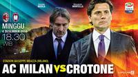 AC MILAN VS CROTONE (Liputan6.com/Abdillah)