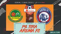 Shopee Liga 1 - PS Tira Vs Arema FC (Bola.com/Adreanus Titus)