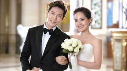 Eugene dan Ki Tae Young pertama kali bertemu dalam drama Creating Destiny pada 2009. Lantaran sering bertemu, mereka pun jatuh cinta dan menikah pada Juli 2011. (Foto: soompi.com)