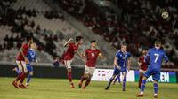 Timnas Indonesia vs Islandia (Liputan6.com/Faizal Fanani)
