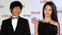 Lee Seung Gi membantah kabar yang beredar menyebutkan hubungannya dengan kekasihnya, Yoona telah putus.