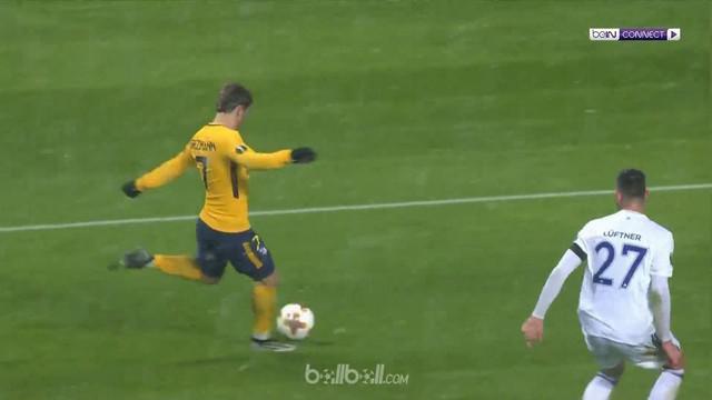 Wakil Spanyol, Atletico Madrid menghantam tuan rumah Copenhagen 1-4 di babak 32 besar Liga Europa.   Kendati tertinggal lebih dulu...