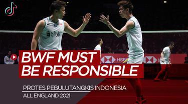 Berita video TikTok Bola.com, Kevin Sanjaya dan atlet bulutangkis lainnya kompak protes BWF lewat media sosial.