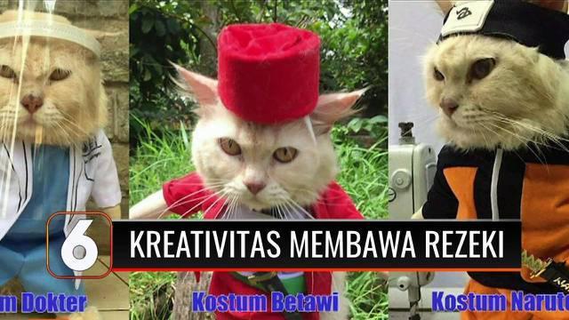Sadar harus memiliki sumber penghasilan lain, seorang guru honorer di Bogor asah keahliannya dalam menjahit. Hasilnya, koleksi baju kucing yang gemas ini tak hanya datangkan rezeki untuknya tetapi juga untuk para tetangganya lho.