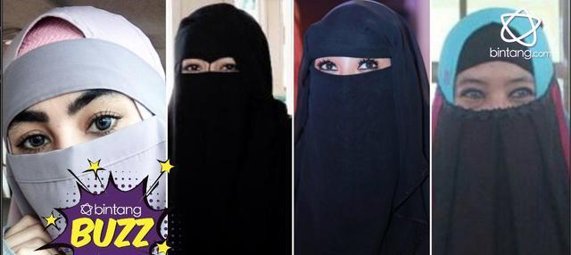 Banyak latar belakang yang menjadikan beberapa selebritis untuk memilih hijrah dan menggunakan hijab serta cadar.