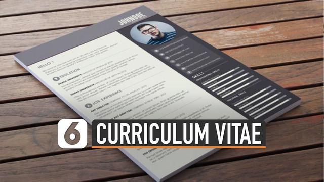 Cv adalah hal penting untuk mendaftar kerja atau mencari pekerjaan. Tapi ternyata jangan semua data pribadi anda ditulis disana.