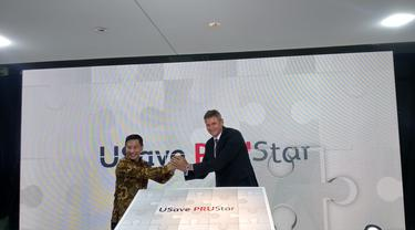 PT Bank UOB Indonesia dan PT Prudential Life Assurance meluncurkan produk asuransi dwiguna USave PRUStar.
