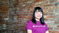 Robyn Soetikno, perempuan muda yang besut aplikasi digital di bidang kesehatan. (Liputan6.com/Benedikta Desideria