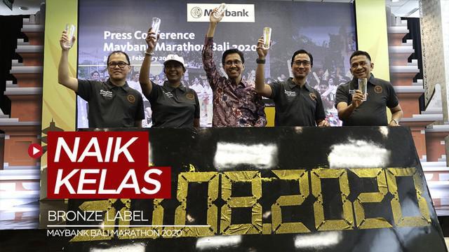"""Berita video acara konferensi pers Maybank Marathon yang kini berstatus """"Bronze Label""""."""