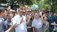 Cagub Sulsel, Nurdin Abdullah janji perbaiki jalan rusak di Sulsel (Liputan6.com/ Eka Hakim)