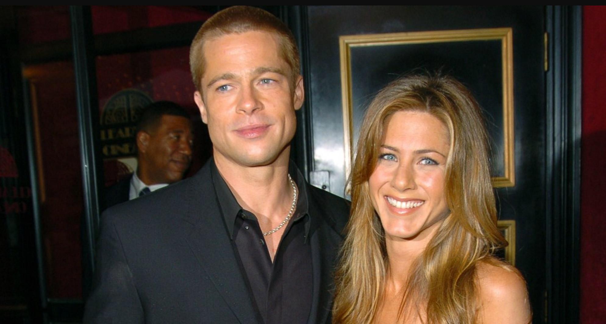 Brad Pitt dan Jennifer Aniston (E!)