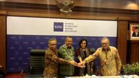 Rapat berkala Komite Stabilitas Sistem Keuangan (KSSK) di Bank Indonesia, Selasa (30/7/2019).