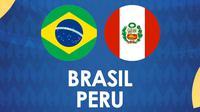 Copa America - Brasil Vs Peru (Bola.com/Adreanus Titus)