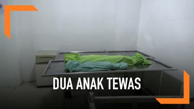 Dua anak tewas karena menjadi korban gas meledak pada sebuah ruko di Medan. Tercatat 10 warga lain turut menjadi korban luka.