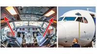 Ruangan Rahasia dalam Pesawat. (Sumber: Brightside)