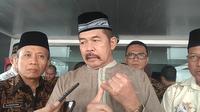 Jaksa Agung, ST Burhanuddin Saat Diwawancarai di Kompleks Kejaksaan Agung, Jakarta, Jumat (25/10/2019)